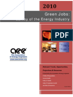Survey of the Green Energy Industry 2010