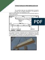 Elementos Estructurales Prefabricados en Concreto