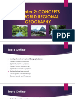 Chapter 2- Concepts in World Regional Geography