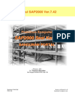 CIVIL SOFTWARE_Modul III Bangunan Portal SAP2000.PDF