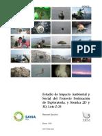 EIA sismica y perforación Resumen Ejecutivo, Lote Z-33-marzo 2010