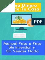 Manual Gana Dinero Por Internet