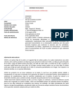 WISC IV Ejemplo Informe