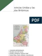 Las Provincias Unidas y Las Islas Británicas