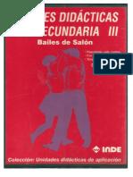Unidades Didacticas Para Secundaria III Bailes de Salon