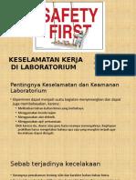 Kelompok 5_keselamatan Kerja Di Laboratorium