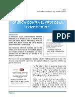 La Ética Contra El Virus de La Corrupción-RBisso