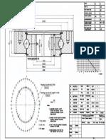 WCB 061.20.1094 Swing Circle Gear Turntable Slewing Ring Bearing