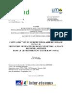 PDF Etude Des Mini Laiteries Au Mali Rapport de Stage