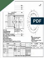 WCB 111.28.800 Swing Circle Gear Turntable Slewing Ring Bearing