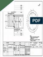 WCB 111.28.1120 Swing Circle Gear Turntable Slewing Ring Bearing