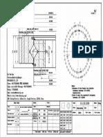WCB 111.32.1250 Swing Circle Gear Turntable Slewing Ring Bearing