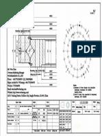 WCB 113.25.500 Swing Circle Gear Turntable Slewing Ring Bearing