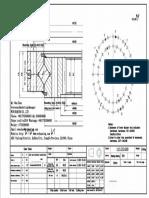 WCB 113.25.630 Swing Circle Gear Turntable Slewing Ring Bearing