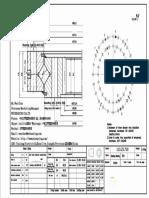 WCB 113.25.710 Swing Circle Gear Turntable Slewing Ring Bearing