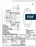 WCB 113.28.1120 Swing Circle Gear Turntable Slewing Ring Bearing