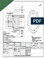 WCB 113.32.1250 Swing Circle Gear Turntable Slewing Ring Bearing