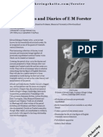 The Journals and Diaries of E M Forster