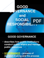Good Governance Principles