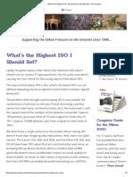What's the Highest ISO I Should Set_ _ DSLRBodies _ Thom Hogan