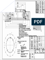 WCB 231.20.0544 Swing Circle Gear Roller and Ball Turntable Slewing Ring Bearing