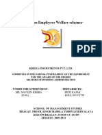 Final Project Report on Employees Welfare