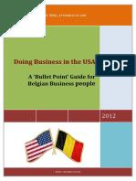 Guia para hacer negocios en EEUU