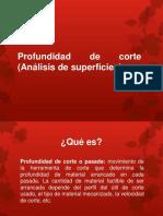 Profundidad de corte (Análisis de superficies).pptx