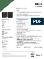 DuraTR Spec Sheet En