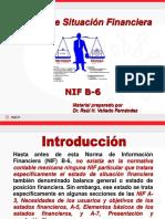 Estado de Situación Financiera NIF B-6