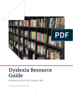 Dyslexia Resource Guide