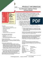 ISTI SL-2K TechData Complete