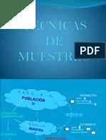 MUESTREO 1
