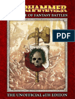 Warhammer - The Game of Fantasy Battles - 9th Edition