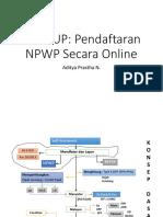 Seri KUP DAFTAR NPWP ONLINE.pptx