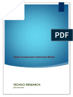 Global Construction Chemicals Market