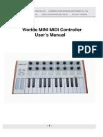 Worlde Minilab 25 controller