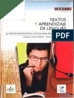Textos y Aprendizaje de Lenguas Eclairci