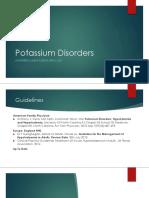 Potassium Disorders by Aiyra
