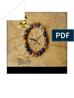 Gelang Batu Alam Black Brown Agate, 0877_81894000