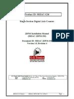 Microsoft Word - SSDAC 2DP1S-IM Version 1.0, Rev.4