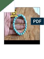 Gelang Batu Pirus Alam Asli, +62877 8189 4000