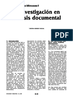 Analisis Documental