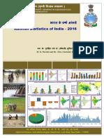 Rainfall Statistics of India - 2016