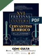 Programa Cervantino Barroco 2018