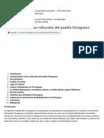 Características socioculturales del Paraguay.