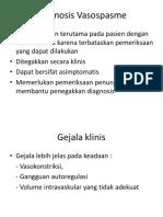 Diagnosis Vasospasme Ppt