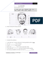 EOI NB2 Topic 4 Worksheets