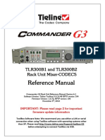 Tieline Codec Manual v 6.1