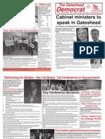 Gateshead Democrat Oct 10 Bw